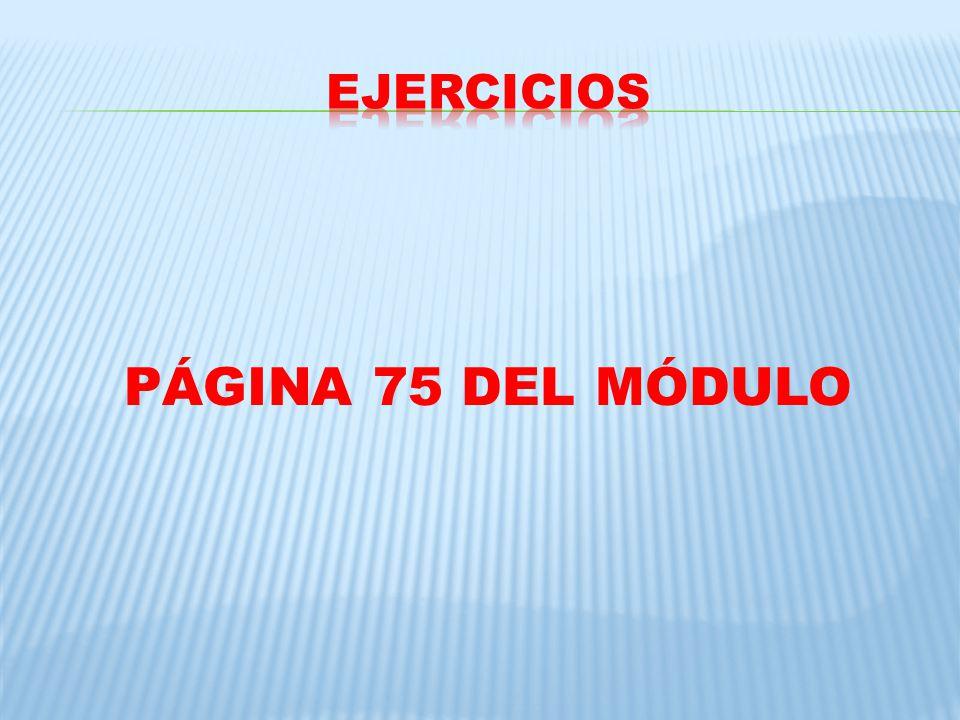 PÁGINA 75 DEL MÓDULO