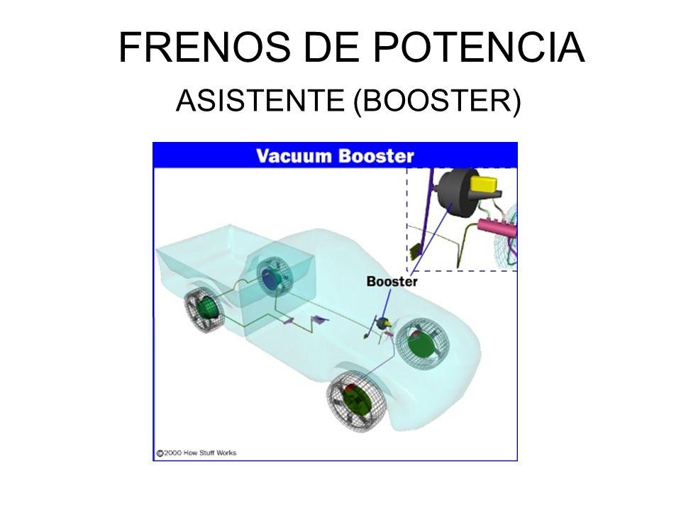 FRENOS DE POTENCIA ASISTENTE (BOOSTER)