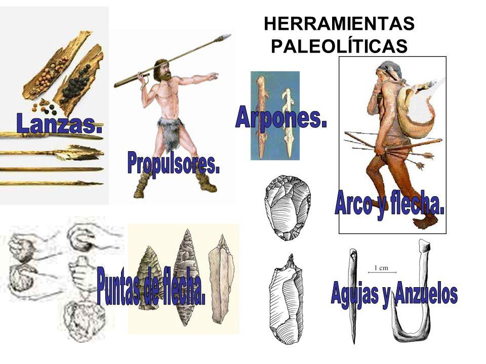 HERRAMIENTAS PALEOLÍTICAS