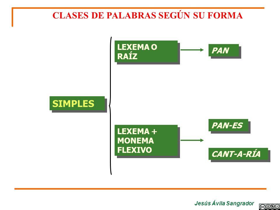 Jesús Ávila Sangrador Análisis de los determinativos NUESTRAS: adjetivo determinativo, posesivo, varios poseedores, femenino plural.