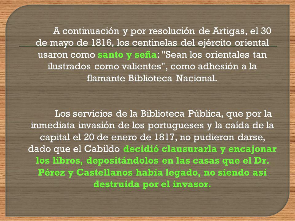 La voluntad de Pérez y Castellanos no se cumplió por entonces debido quizá al largo proceso judicial que tenía que seguirse antes que el Estado se pos