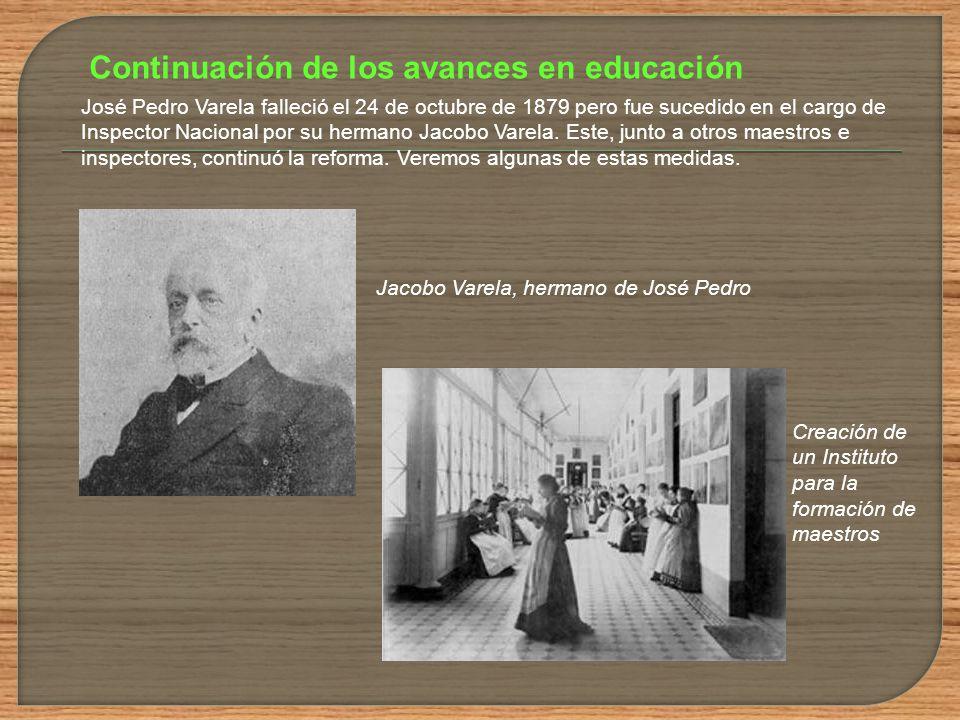 Desde 1877 hasta 1880 la matrícula escolar creció notablemente, tanto en las escuelas públicas (de 17.500 a 24.700) como en las privadas (de 6.600 a 1