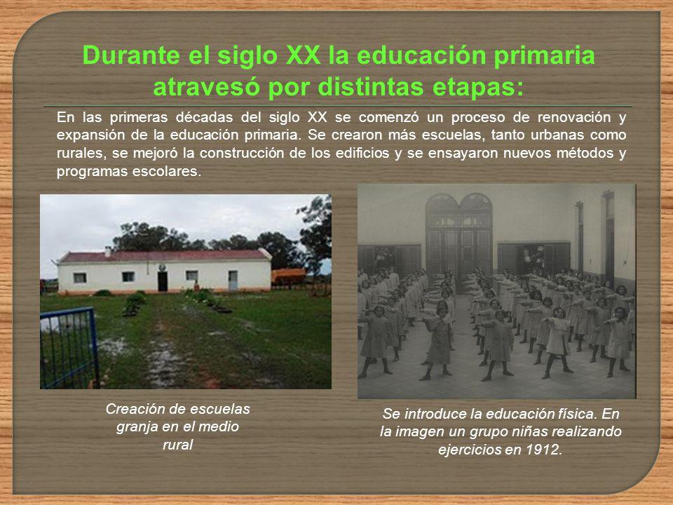 Se establecen escuelas mixtas hasta determinado nivel Introducción de los Bancos Varela Creación de la biblioteca y museo pedagógico Elaboración y dis