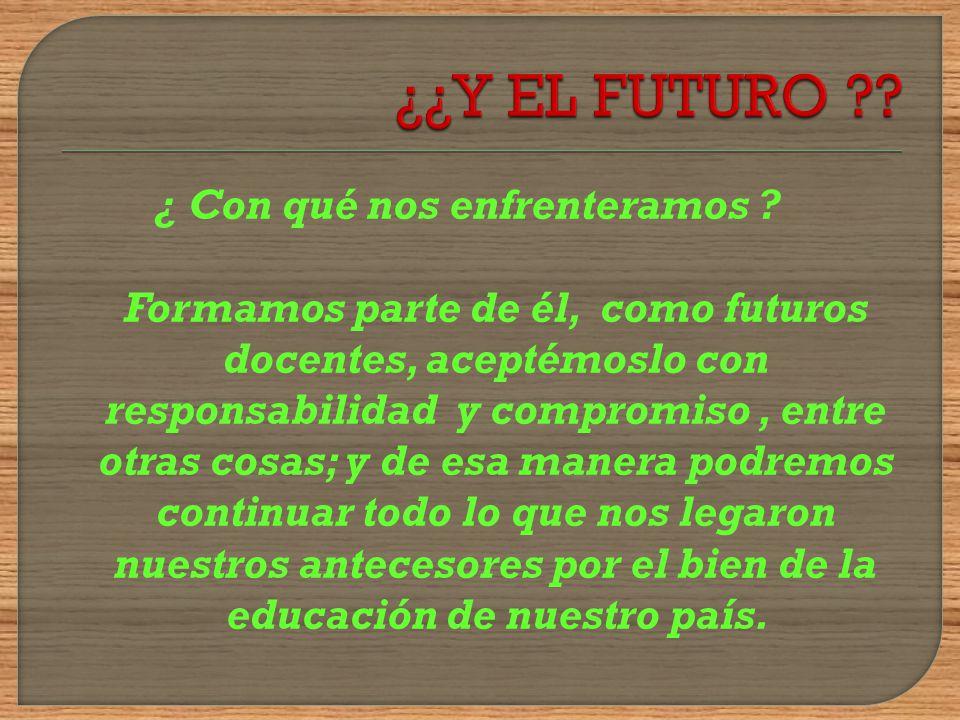 Presente: continúan los cambios… Se implementa el plan Ceibal En 2009 se comienza a aplicar un nuevo programa escolar