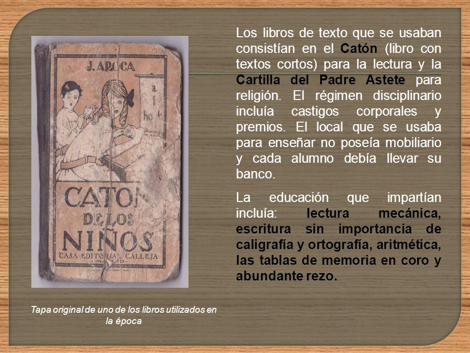 Las primeras escuelas que funcionaron en el territorio que luego se constituiría en Uruguay pertenecían a las órdenes religiosas y se concentraron en
