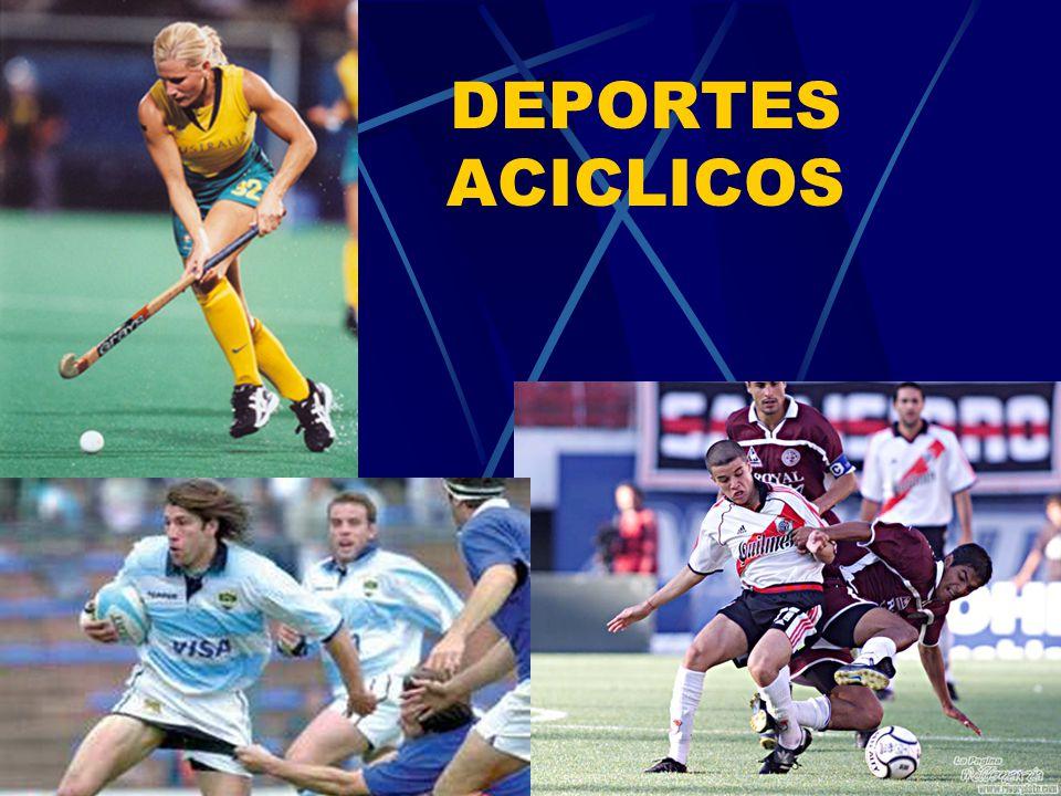 DEPORTES ACICLICOS