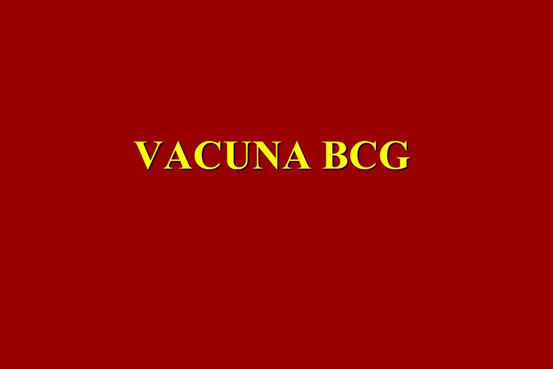 La sigla significa: Bacilo de Calmette Guerin, elaborada con bacilos vivos y atenuados
