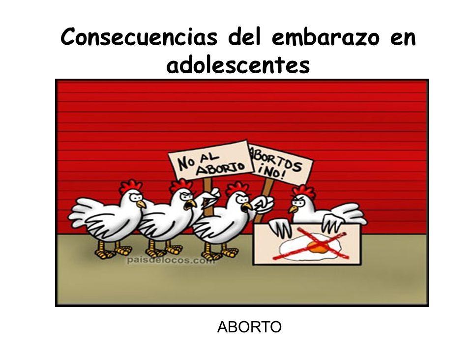 Consecuencias del embarazo en adolescentes ABORTO