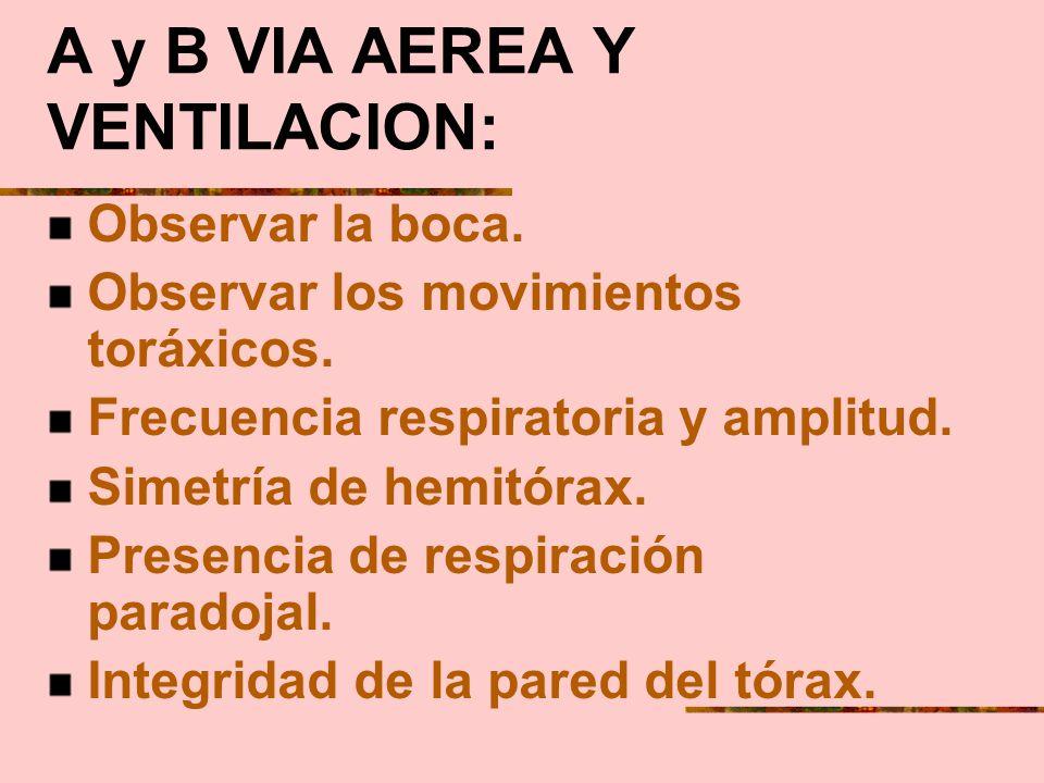 Efecto del trauma sobre la función respiratoria: 1)-Mal funcionamiento del centro bulbar respiratorio. 2)- Pérdida de la integridad anatómica y funcio