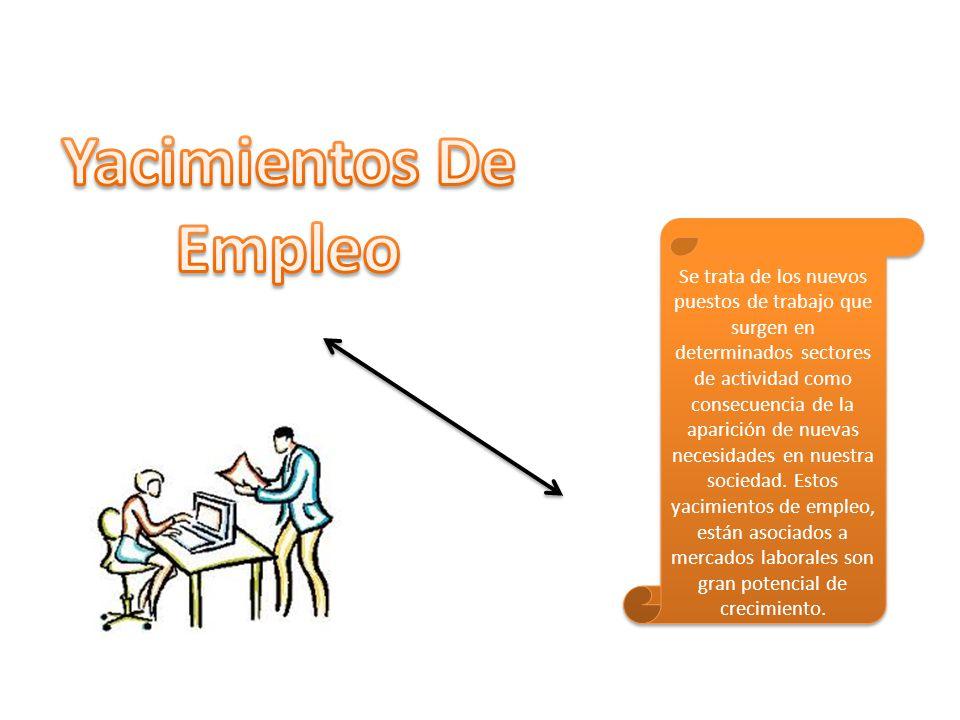Se trata de los nuevos puestos de trabajo que surgen en determinados sectores de actividad como consecuencia de la aparición de nuevas necesidades en