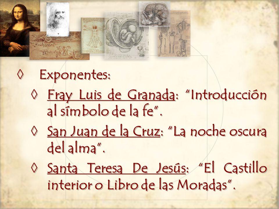 Exponentes: Fray Luis de Granada: Introducción al símbolo de la fe.