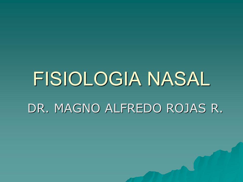 FISIOLOGIA NASAL DR. MAGNO ALFREDO ROJAS R.