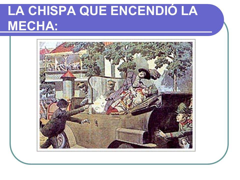 LA CHISPA QUE ENCENDIÓ LA MECHA:
