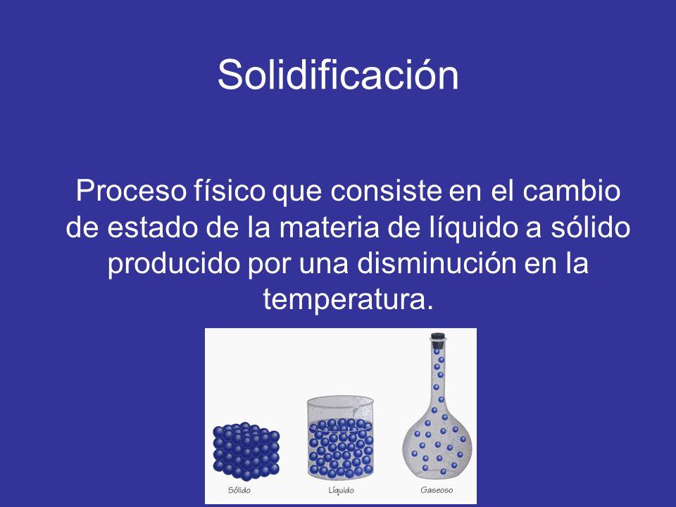 Solidificación de metales la solidificación de un metal o aleación puede dividirse en las siguientes etapas: 1.