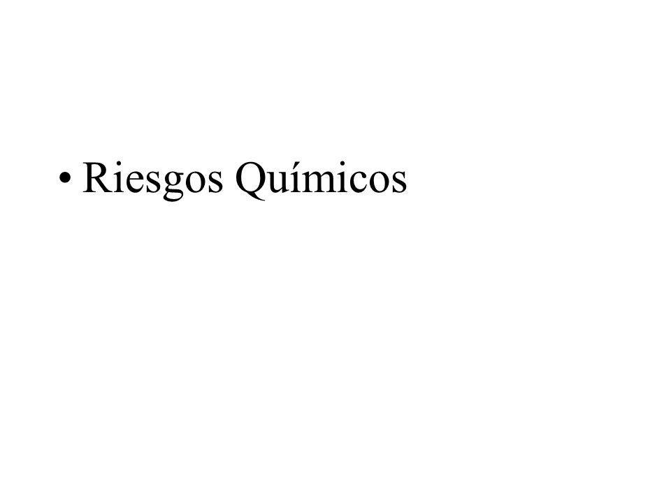 A) RIESGOS QUIMICOS.B) RIESGOS FISICOS. C) RIESGOS BIOLOGICOS.