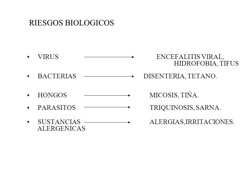 SUSTITUCION DEL CONTAMINANTE. CAMBIO DE PROCESO. MANTENCION, ORDEN Y LIMPIEZA. SEGREGACION. ENCERRAMIENTO. HUMECTACION. VENTILACION / EXTRACCION. ORIG