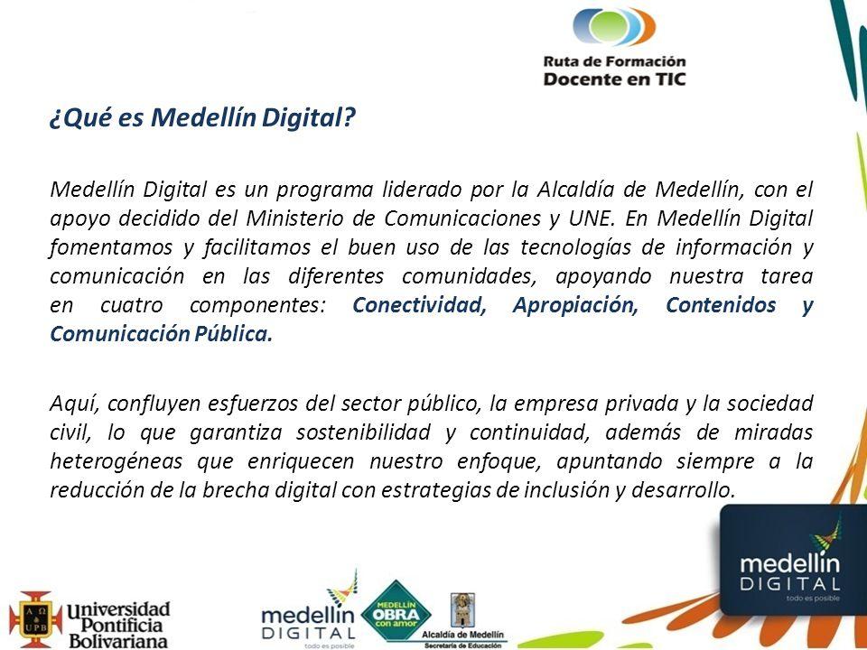 ¿Qué es Medellín Digital.