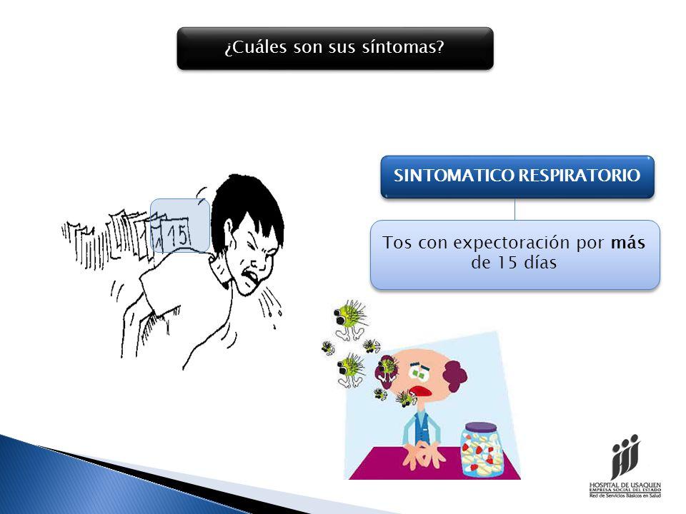 Puede acompañarse de síntomas inespecíficos como: PERDIDA CONSIDERABLE DE PESO SUDORACION NOCTURNA FIEBRE MALESTAR GENERAL
