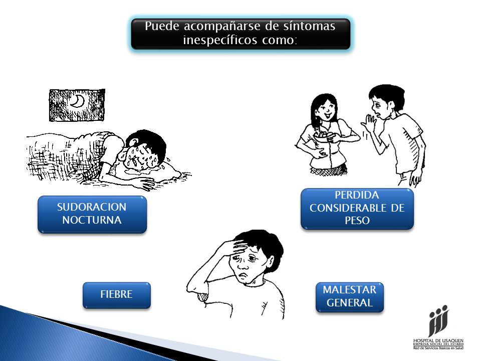 - Hacinamiento - Malas condiciones higiénicas - Infección por VIH.