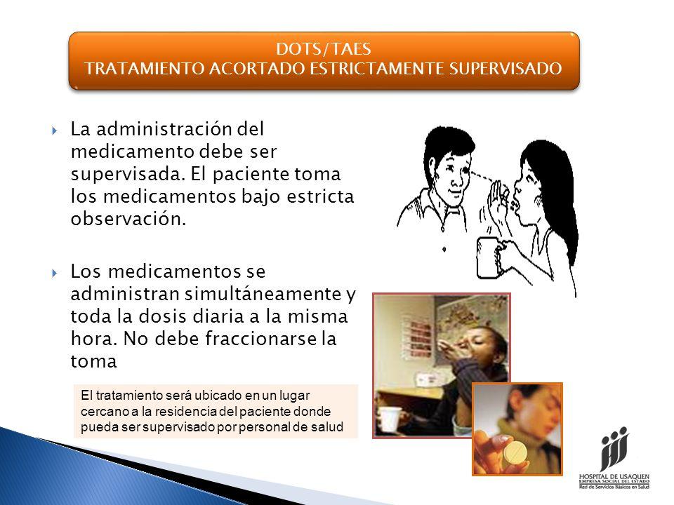 SEGUIMIENTO Consulta médica : se requiere un control medico al 2, 4, 6 mes o finalización del tratamiento.