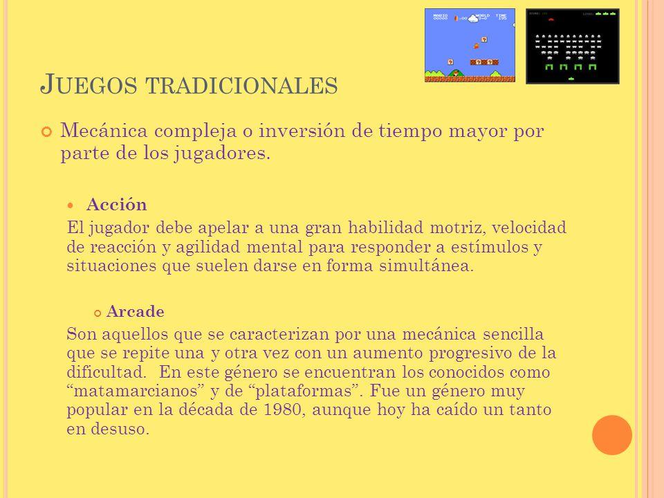 S ERIOUS GAMES Existe un criterio de clasificación especial para aquellos juegos que están diseñados con un propósito específico aparte del propio entretenimiento.