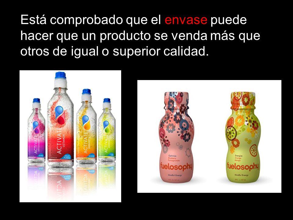 Está comprobado que el envase puede hacer que un producto se venda más que otros de igual o superior calidad.