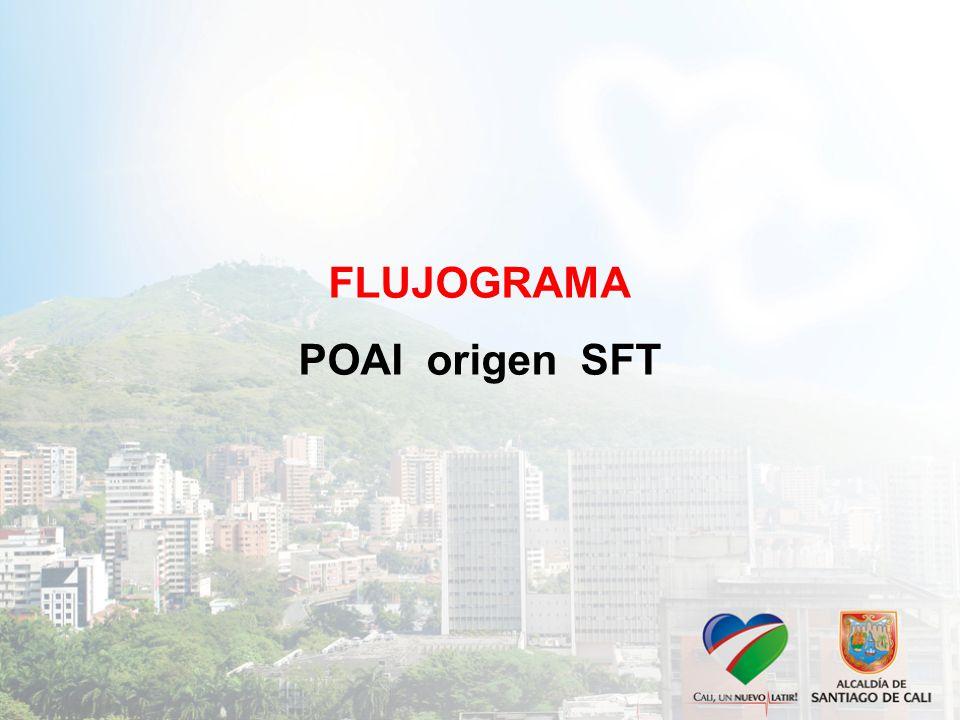 FLUJOGRAMA POAI origen SFT