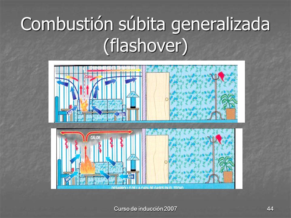Curso de inducción 200744 Combustión súbita generalizada (flashover)