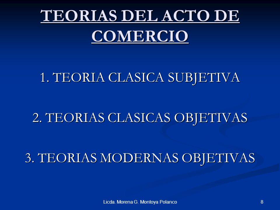 ACTOS MERCANTILES A) ACTOS DE MERCANTILIDAD PURA COSAS TIPICAMENTE MERCANTIL: 1. 1. LA EMPRESA MERCANTIL Y SUS ELEMENTOS ESENCIALES 2. 2. LOS DISTINTI