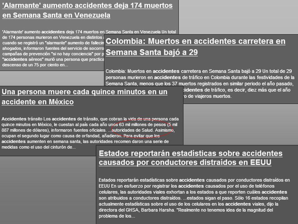 Atención en el lugar del accidente: Accidentes masivos.