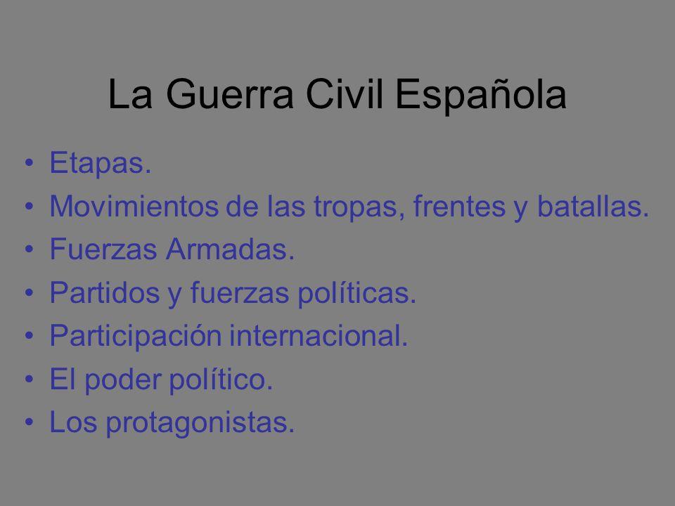 1937: zona rebelde A comienzos del año se intentan varios ataques sobre Madrid: Batallas de la carretera de La Coruña y del Jarama.