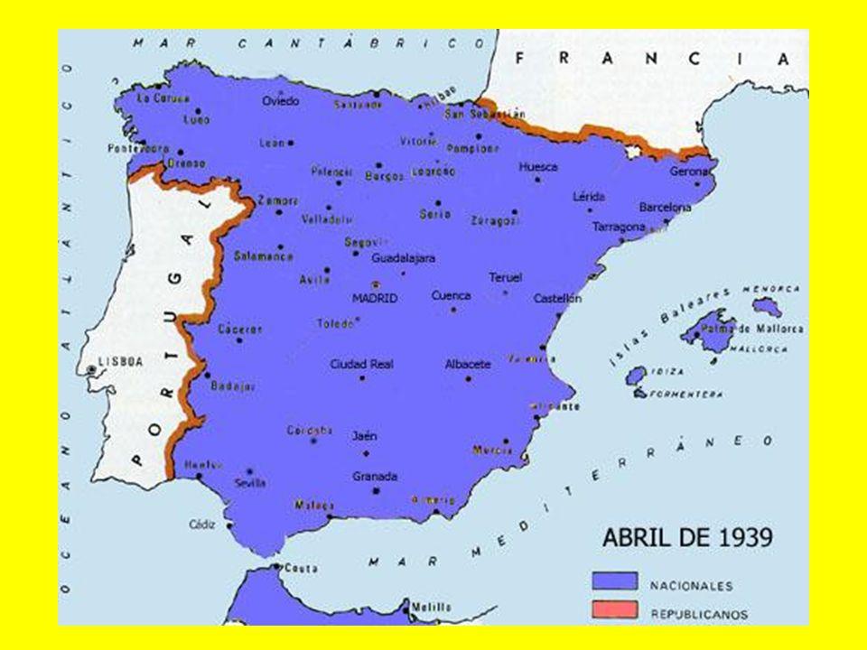 1939: Mapa del frente