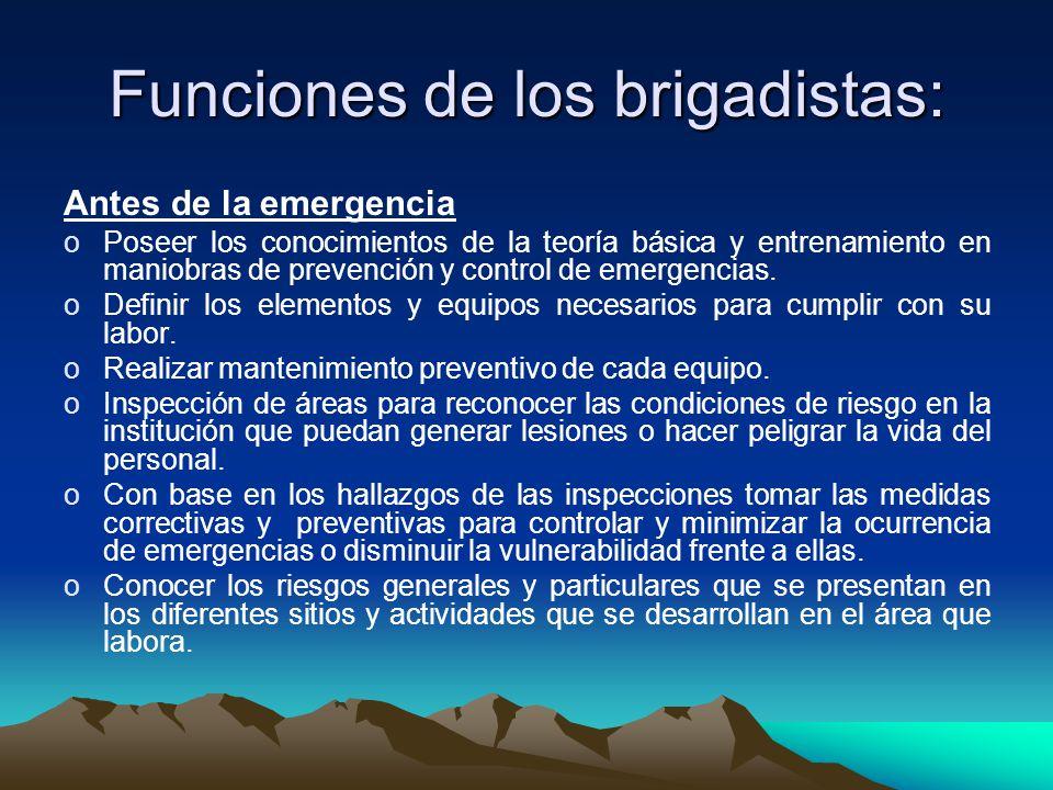 AMENAZAS Antropicas Incendios Explosiones Escape gases y vapores Orden publico Natural Sismos Terremotos Inundaciones Tormentas Otros Epidemias