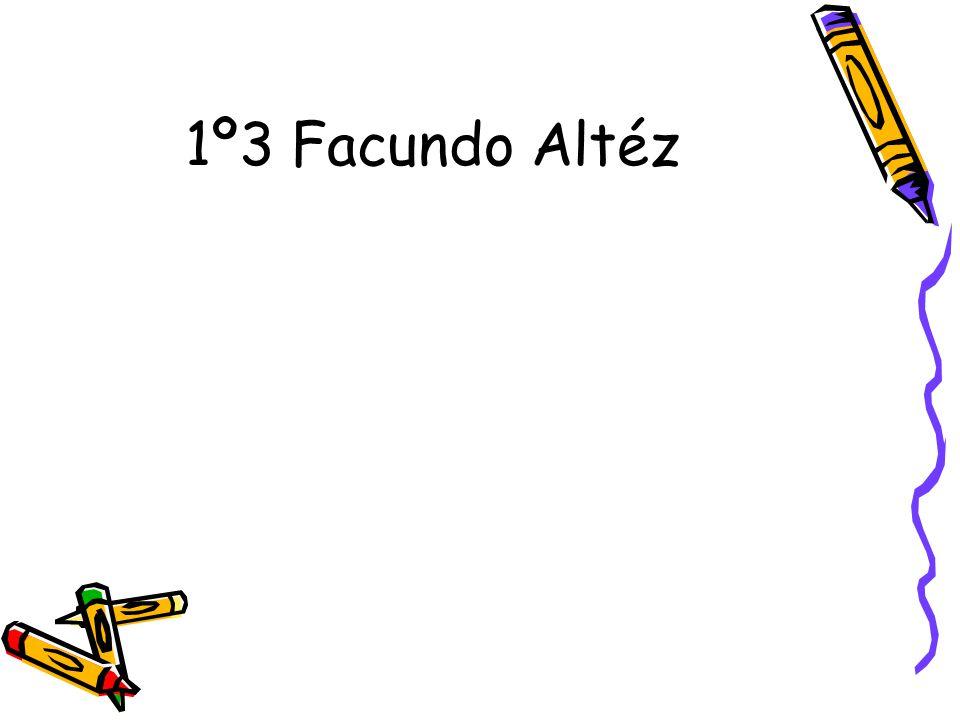 1º3 Facundo Altéz