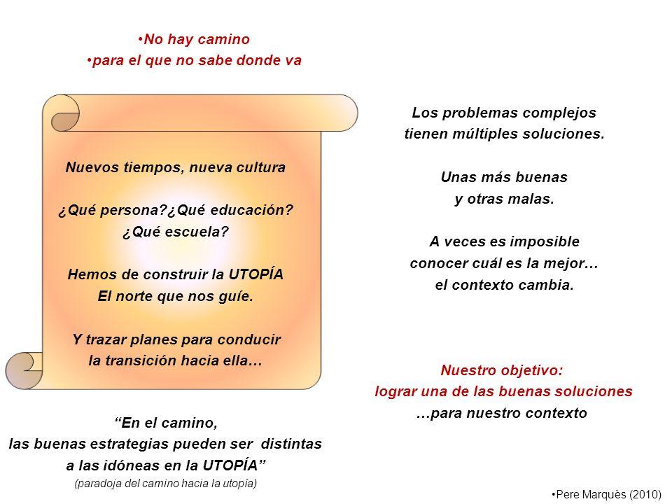 Los problemas complejos tienen múltiples soluciones.
