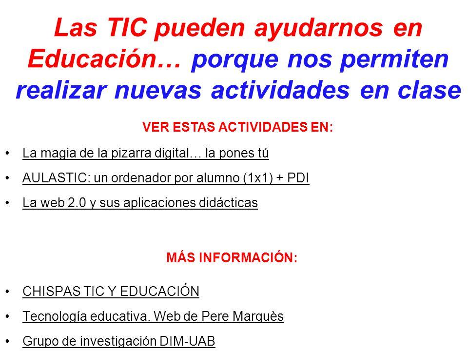 CHISPAS TIC Y EDUCACIÓN Tecnología educativa.