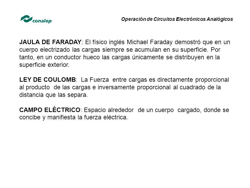 JAULA DE FARADAY: El físico inglés Michael Faraday demostró que en un cuerpo electrizado las cargas siempre se acumulan en su superficie.