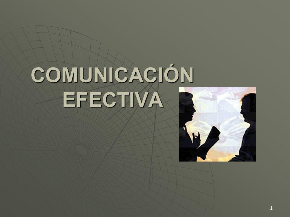 1 COMUNICACIÓN EFECTIVA