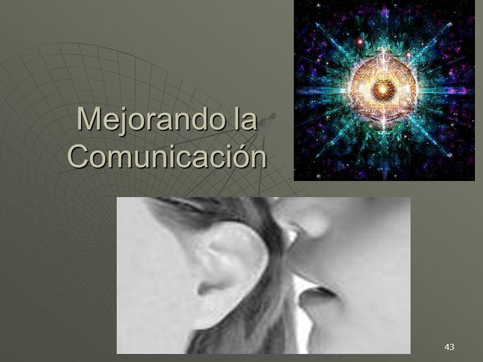 43 Mejorando la Comunicación