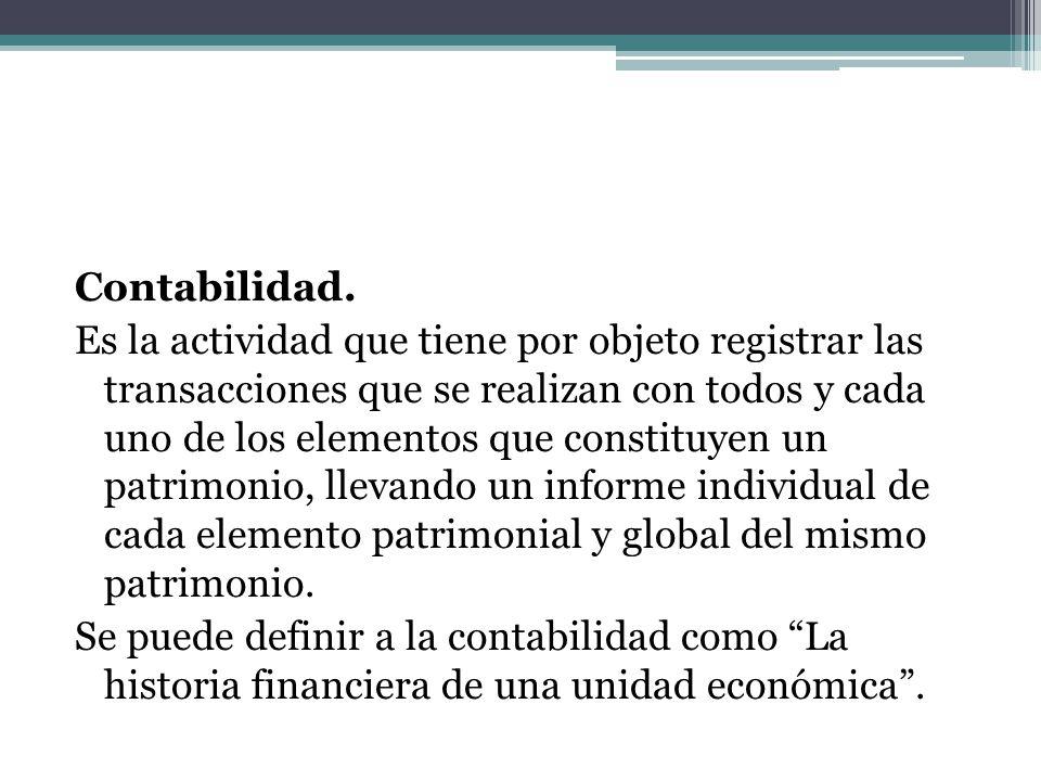 Derecho Contable.