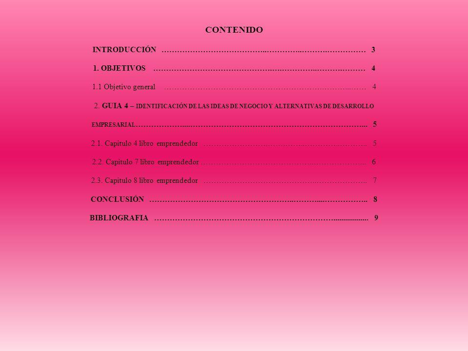 PORTAFOLIO - GUÍA 4 – IDENTIFICACIÓN DE LAS IDEAS DE NEGOCIO Y ALTERNATIVAS DE DESARROLLO EMPRESARIAL PRESENTADO POR: LAURA MARÍA SÁNCHEZ MARTIN. PRES