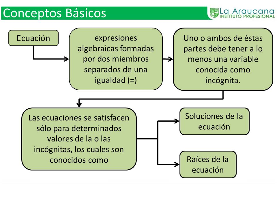 Conceptos Básicos ecuación en que ambos miembros son polinomios.