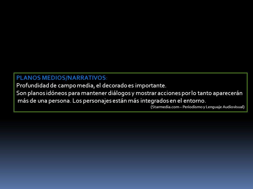 ESCALA DE PLANOS MEDIOS P.M (Plano _Medio)