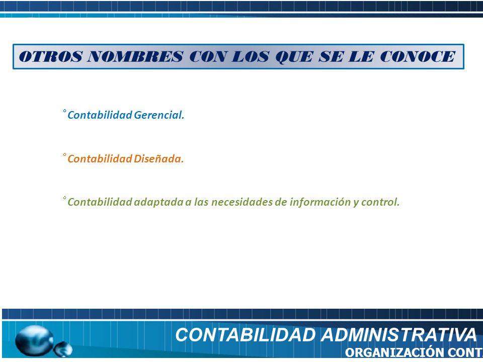 CONTABILIDAD ADMINISTRATIVA FUENTES BIBLIOGRÁFICAS http://es.wikipedia.org/wiki/Tipos_de_contabilidad http://definicion.de/contabilidad-administrativa/ http://www.promonegocios.net/contabilidad/tipos-contabilidad.html http://www.gerencie.com/capital-de-trabajo.html