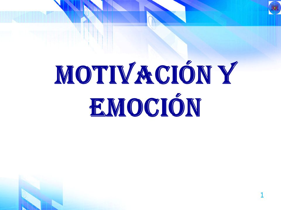 1 Motivación y emoción