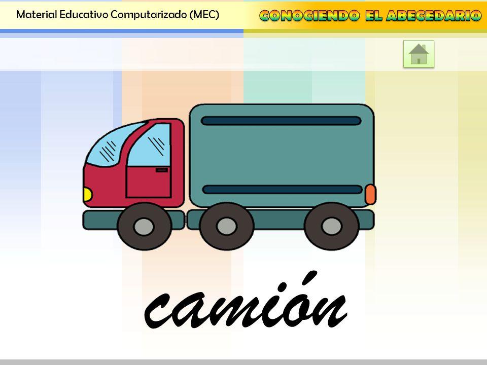 Material Educativo Computarizado (MEC) barco
