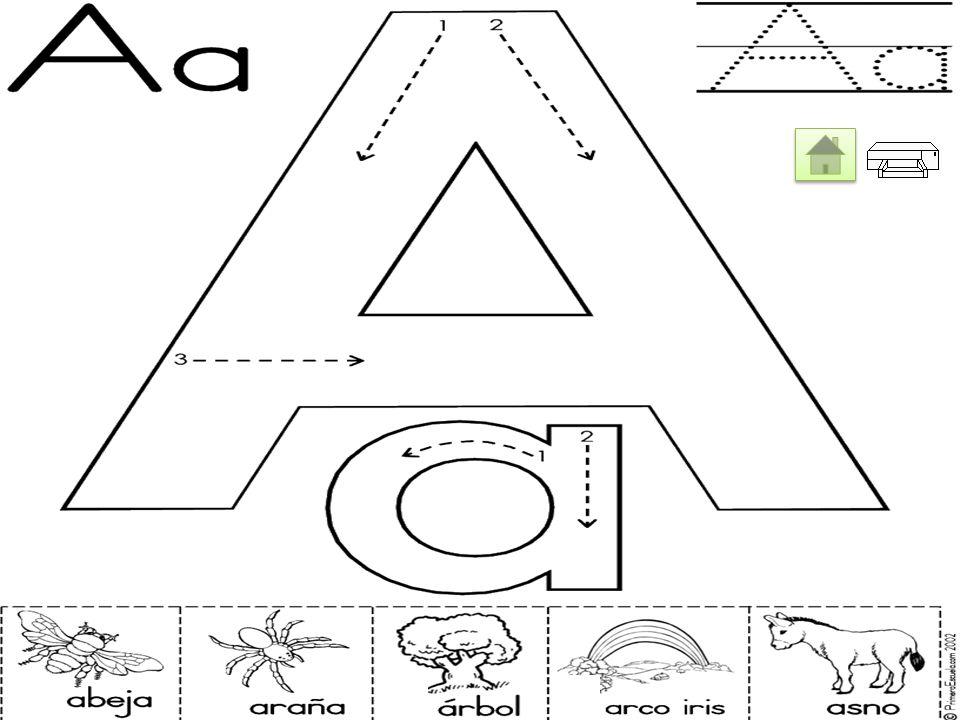 Reafirmar el conocimiento del abecedario Reafirmar el conocimiento del abecedario Estrategia Didáctica A través de las destrezas de pintar una vez imp