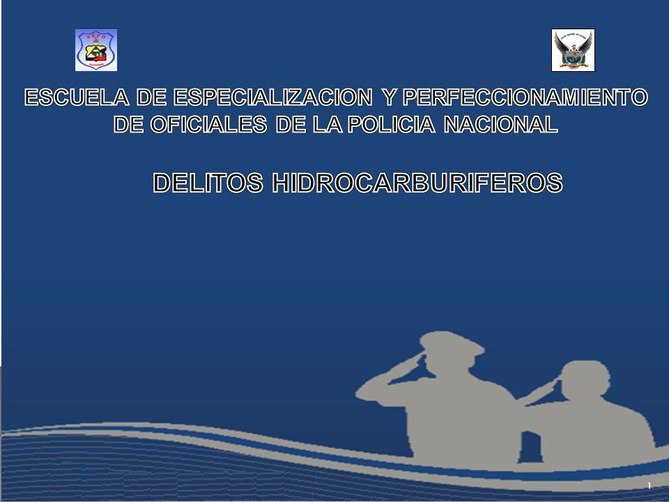 UNIDAD DE INVESTIGACIONES DE DELITOS ENERGÉTICOS E HIDROCARBURÍFEROS HISTORIA: Con la Ley N.- 85 publicada en el Suplemento del Registro Oficial N.- 170 de 14 de septiembre del 2007, se promulgó las Reformas a la Ley de Hidrocarburos y al Código Penal, cuerpo legal en el cual se expiden disposiciones tendientes a combatir el uso indebido y el desvío ilícito de hidrocarburos y del gas licuado de petróleo.