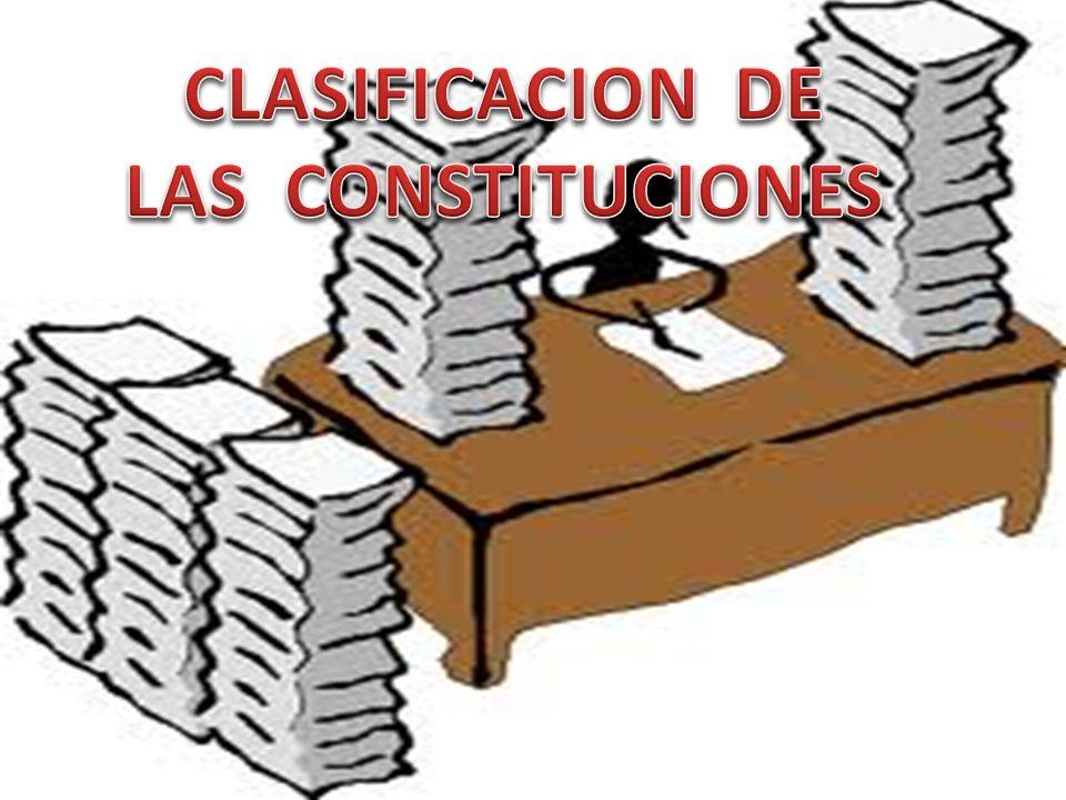 ¿ Que es la Constitucion escrita .