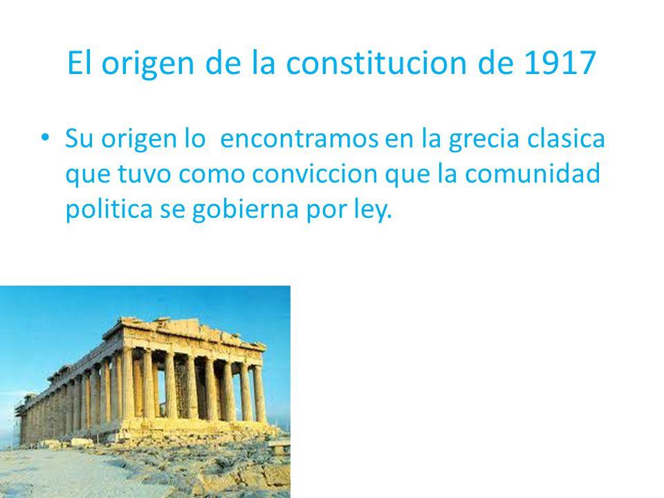 Aristoteles fue quien desarrolló el concepto de la constitucion, para el existian 3 buenas formas de gobierno las cuales eran: La monarquia ( Gobierno de un solo hombre.